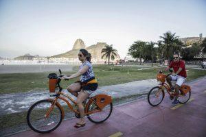 Rio de Janeiro- RJ- Brasil- 17/11/2014- Ciclovias de Botafogo serão revitalizadas e interligadas. Foto: Raphael Lima/ PMRJ