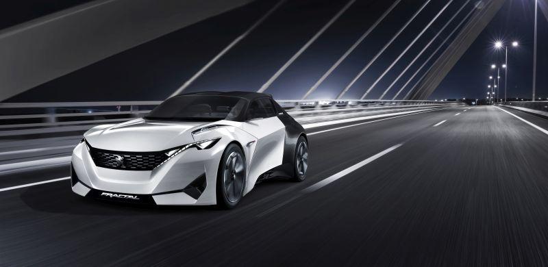 Peugeot anuncia conceito Fractal para o Salão do Automóvel de São Paulo