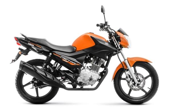 Yamaha YBR 150 é uma das motos mais vendidas no Brasil.