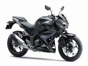 Kawasaki Z300 é um dos modelos que podem ser testados |Foto: Divulgação
