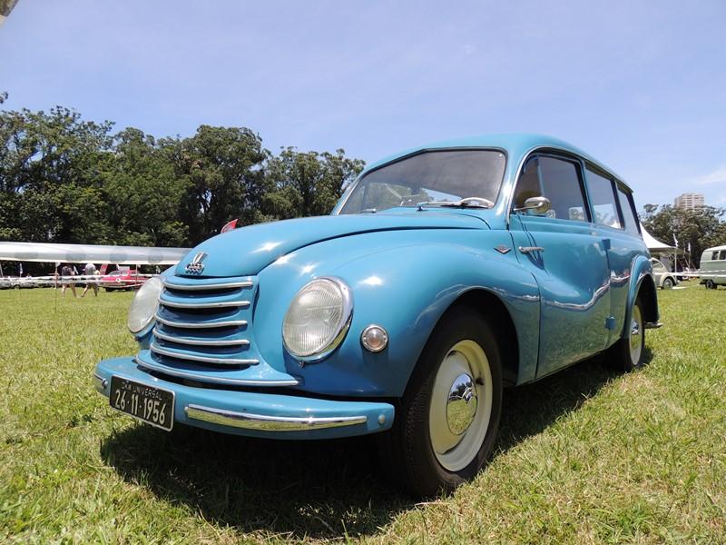 DKW-Vemag Universal 1956; exemplar do Flavio Gomes é uma das primeiras fabricadas |Foto; Acervo Pessoal/Flavio Gomes