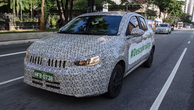 Vídeo: Fiat mostra produção do Argo em MG