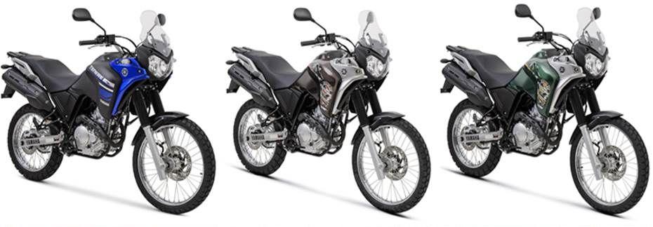 Yamaha Ténéré 250 ganha novas cores e grafismos na linha 2018