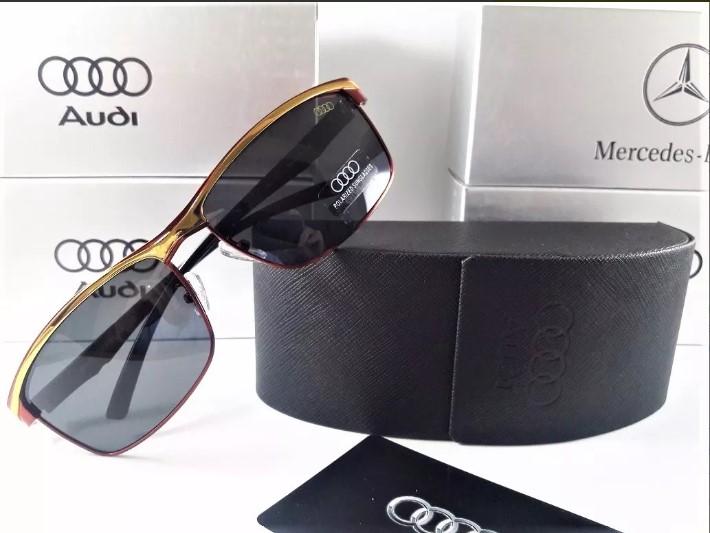 a80d91d84 Crédito: Divulgação. A Audi também lançou a sua linha de óculos escuros