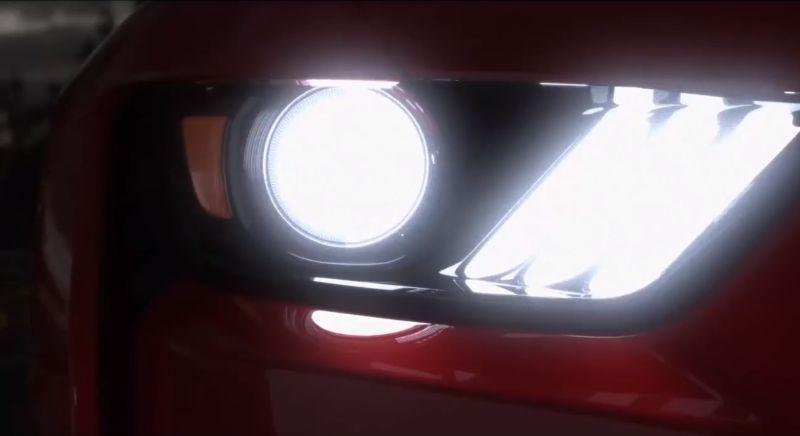 Ford revela primeiras imagens do novo Mustang Shelby GT500, que terá mais de 700 cv