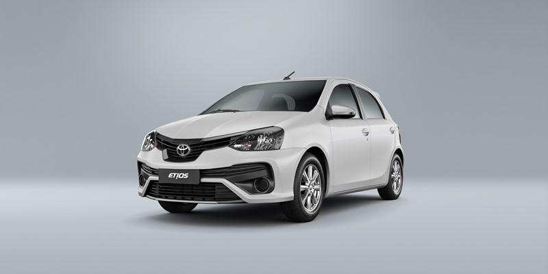 Toyota Etios 2019 ganha nova versão e controle de estabilidade e tração em algumas configurações