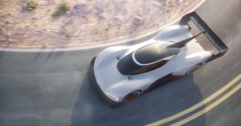 Volkswagen leva esportivo elétrico a campeonato de subida de montanha nos EUA