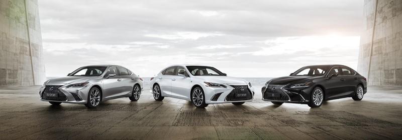 Lexus ES tem nova geração revelada durante o Salão de Pequim
