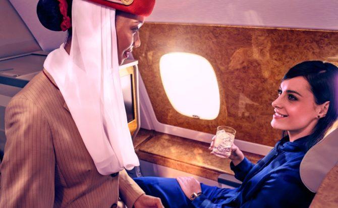 Conheça os mimos de quem voa na primeira classe