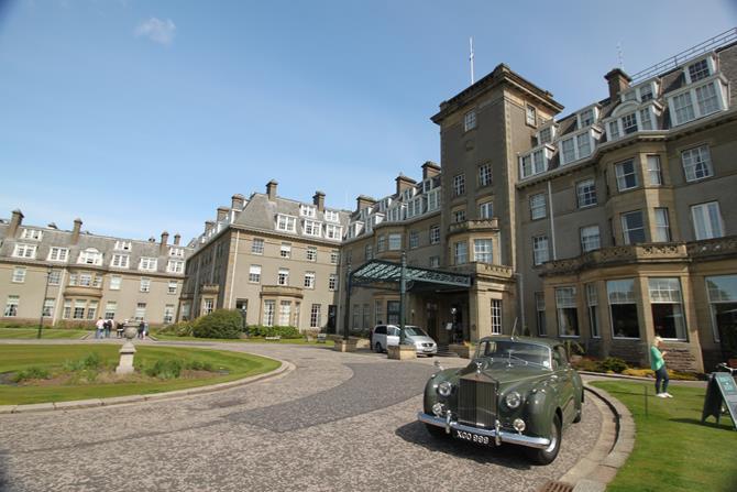 Hotel Gleneagles, na Escócia