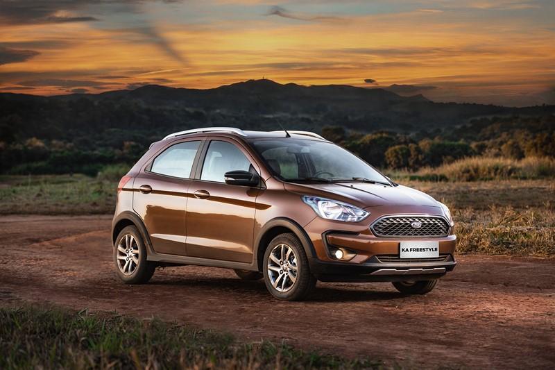 Ford Ka Freestyle chega com novo motor de 136 cv e opção de câmbio automático a partir de R$ 63.490