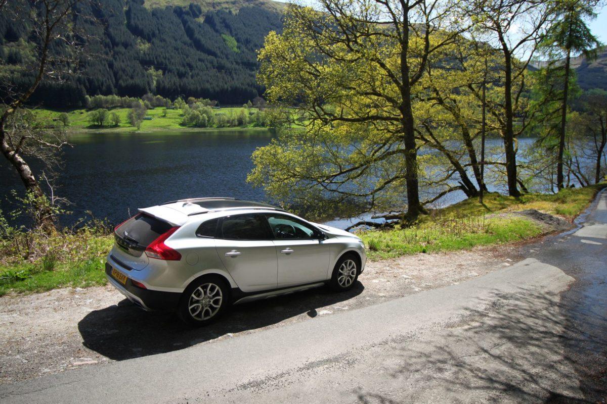 Volvo V40 na Escócia