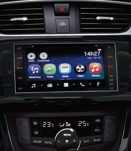 Nissan Sentra 2019 passa a contar com multimídia Nissan Multi-App |Foto: Divulgação