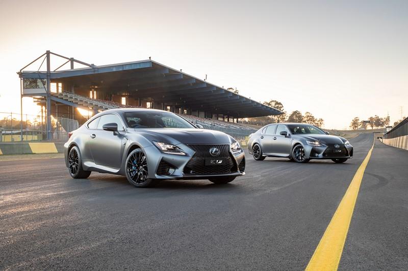 Lexus GS e RC ganham versão comemorativa de 10 anos da linha F