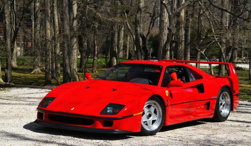 História: relembre a trajetória da Ferrari F40, último supercarro que Enzo Ferrari construiu