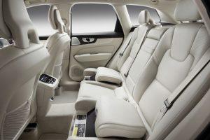 Detalhe do novo assento infantil do Volvo XC60 |Foto: Divulgação