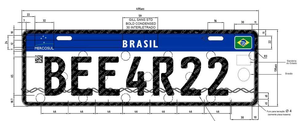 Placa do Mercosul começa a ser implementada no Rio de Janeiro