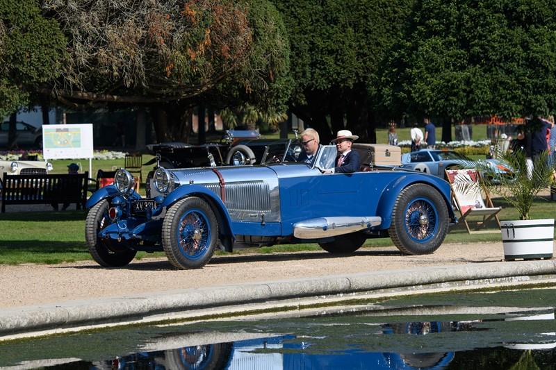 Mercedes-Benz clássica da década de 1920 ganha prêmio de carro mais elegante; veja outros modelos
