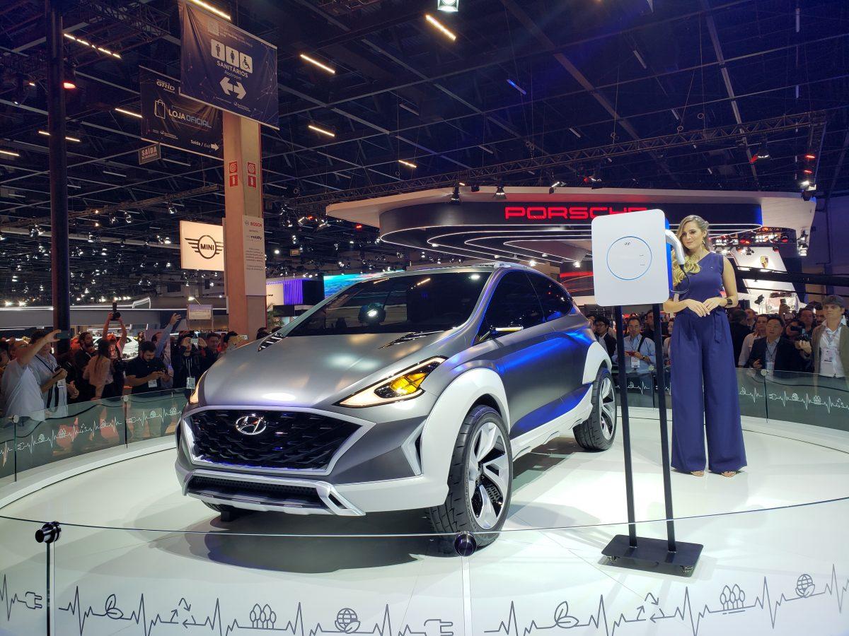 Hyundai mostra modelos 2019, carros conceito e opções elétricas no Salão do Automóvel