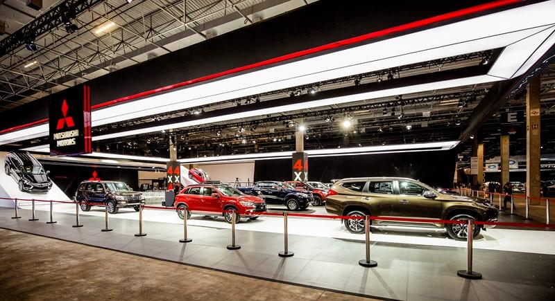 Salão do Automóvel: Mitsubishi mostra novo Pajero Sport e Eclipse Cross