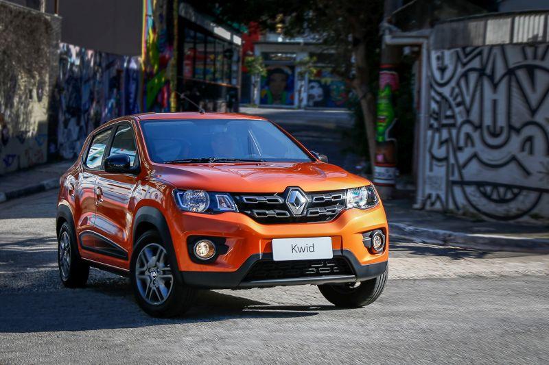 Renault Kwid: veja as versões que mais desvalorizam