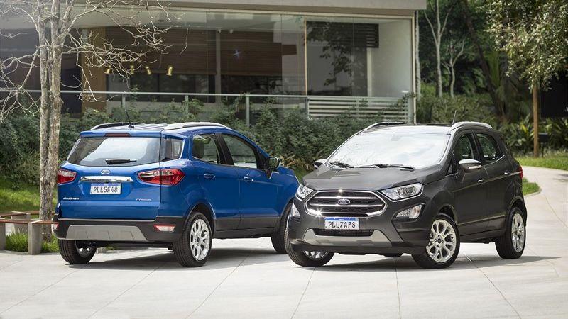 Ford EcoSport Titanium perde estepe e motor 2.0 na linha 2020