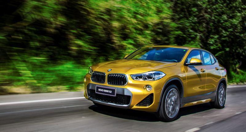 BMW X2 recebe novo motor 2,0l flex no Brasil