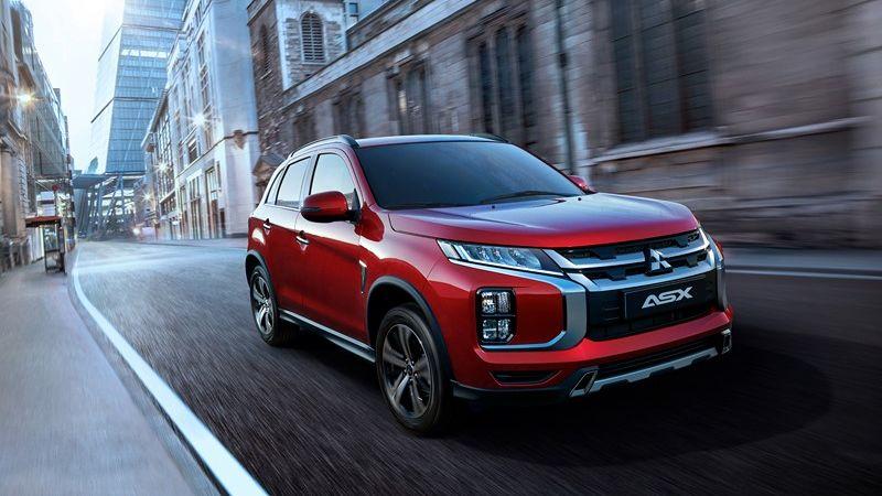 Mitsubishi ASX ganha novo desenho para o Salão de Genebra