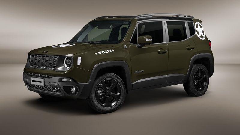 Jeep lança série limitada para o Renegade e traz o novo Wrangler para o Brasil