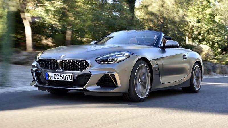 Pré-venda do novo BMW Z4 é iniciada no Brasil