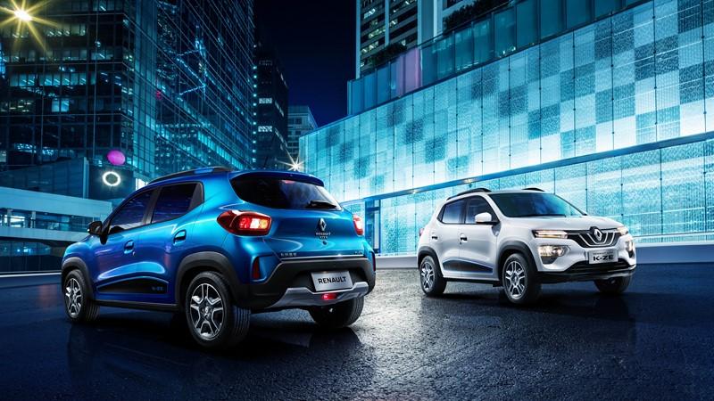 Renault Kwid elétrico é revelado durante o Salão de Xangai