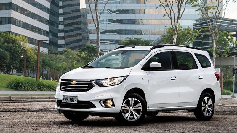 Versão Premier é a principal novidade da Chevrolet Spin 2020