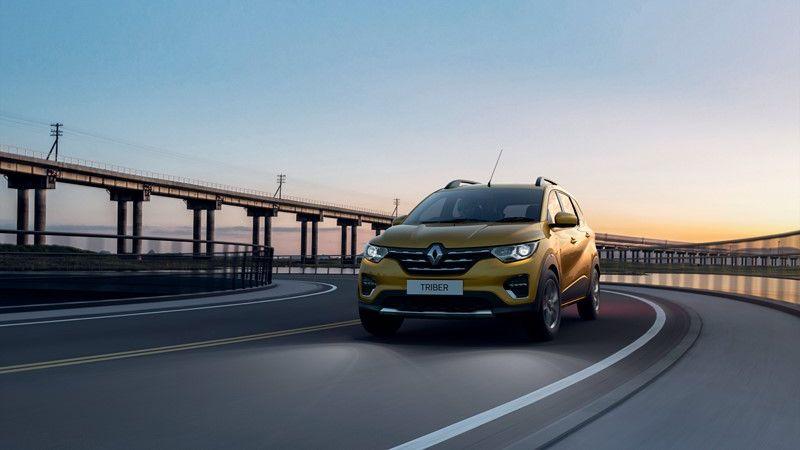 Derivada do Kwid, Renault Triber é apresentada na Índia