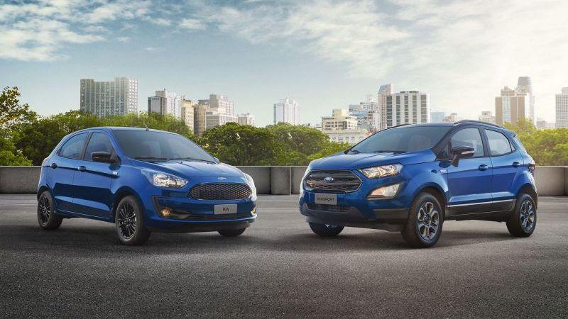 Ford lança série limitada para Ka e EcoSport