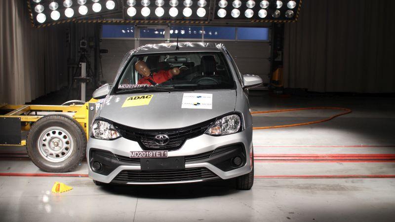 Nova rodada do Latin NCAP testa Toyota Etios e Fiat Argo/Cronos