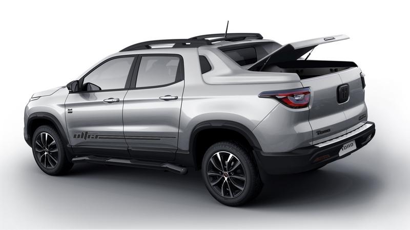 Linha 2020 da Fiat Toro vai receber versão com capota basculante