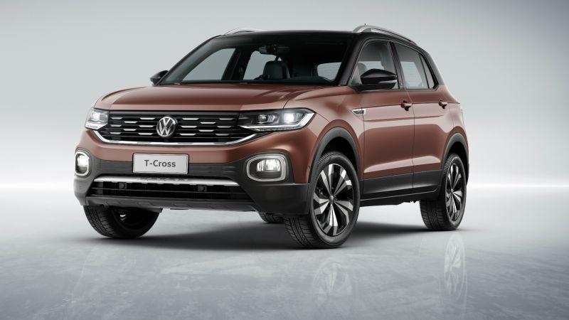VW T-Cross ganha novos opcionais nas versões Comfortline e Highline