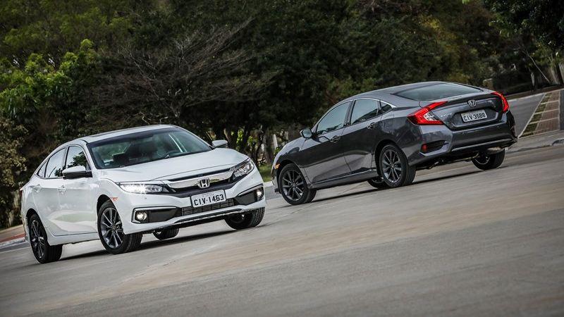 Honda apresenta a linha 2020 do Civic com reestilização e nova versão