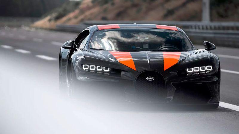 Bugatti Chiron quebra recorde e atinge 490,5 km/h; relembre outros carros velozes