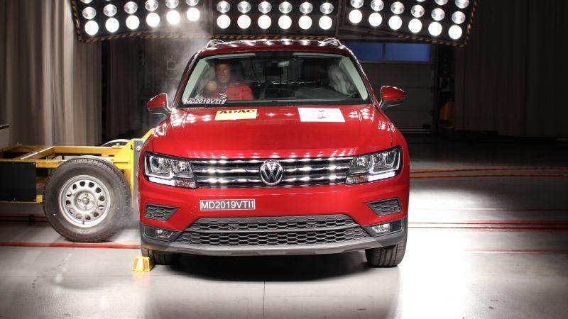 Latin NCAP: VW Tiguan e VW Jetta recebem nota máxima