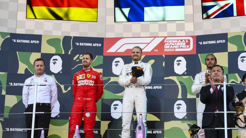 Opinião: Bottas larga bem, vence GP do Japão e ajuda Mercedes a faturar o hexa