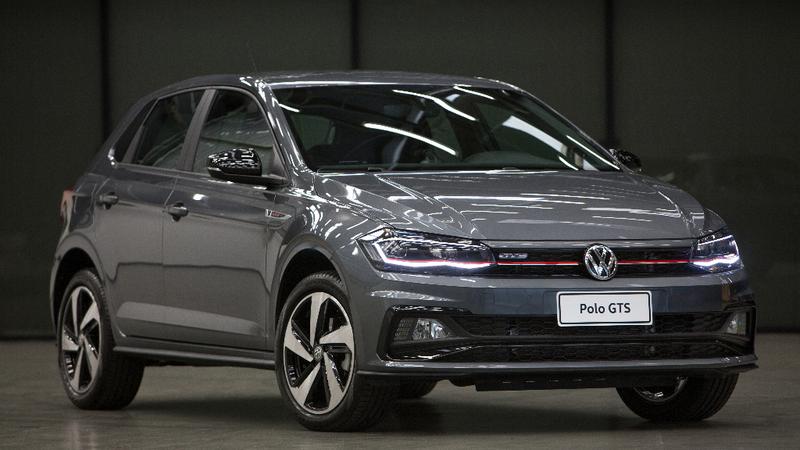 Volkswagen apresenta versão de produção do Polo e Virtus GTS