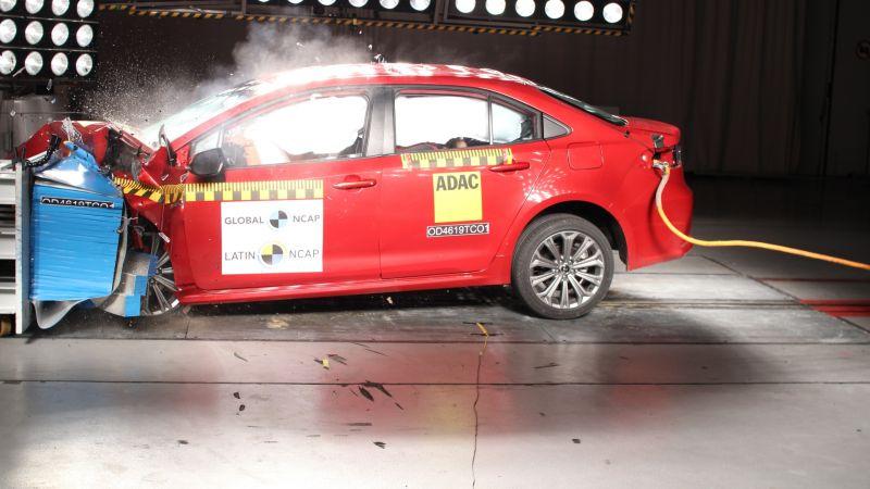 Latin NCAP divulga resultados de Corolla, HB20, Sandero e Logan