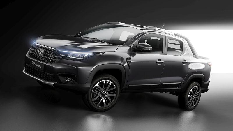 Cara de Argo e jeito de Toro: Fiat revela a dianteira da nova Strada