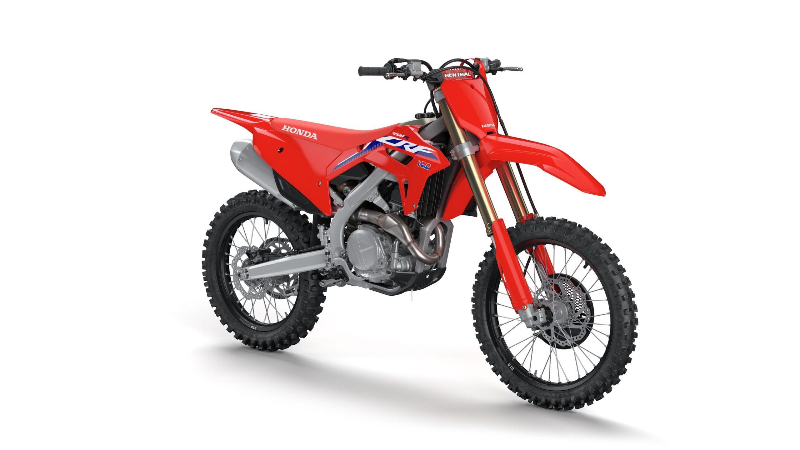 Recall de motos da Honda convoca a CRF 450R