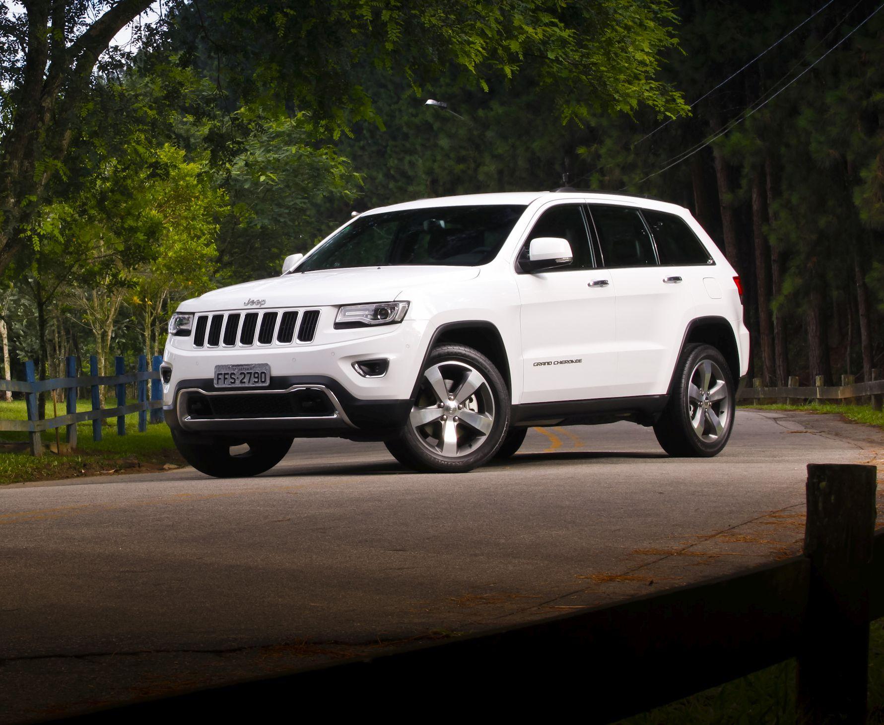 Recall da Jeep convoca 1.685 unidades do Grand Cherokee