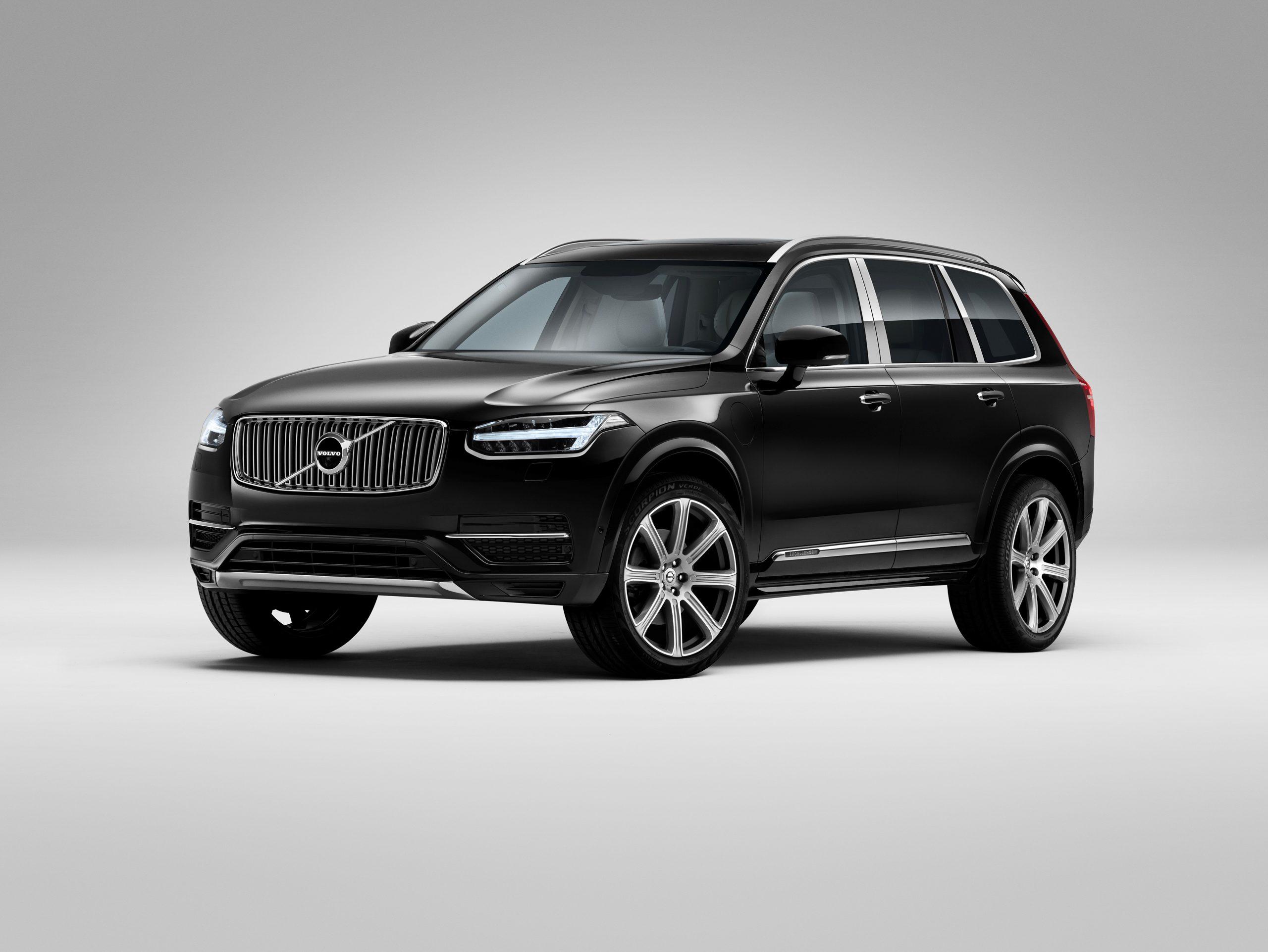 Recall da Volvo chama XC90 Excellence