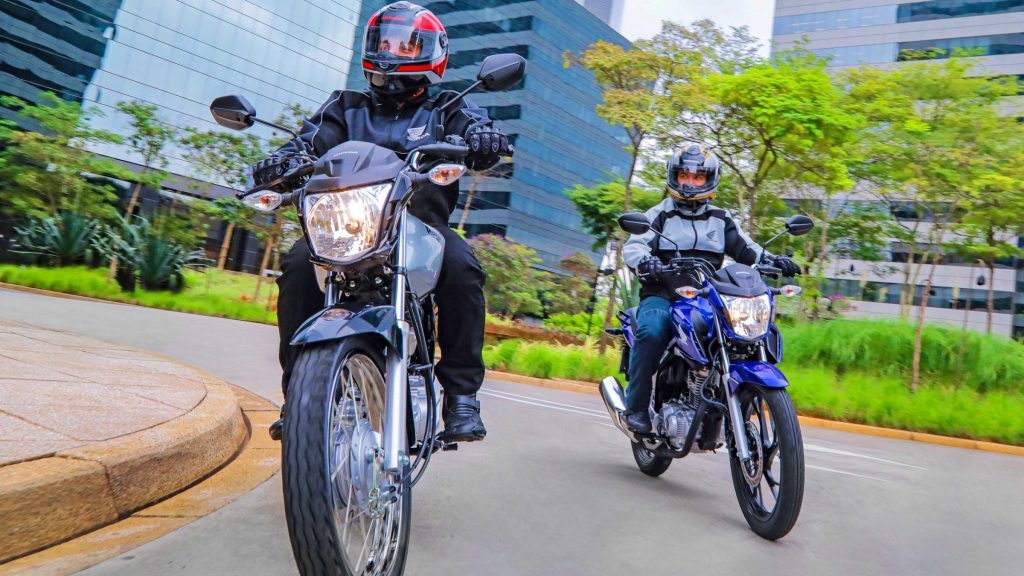 Honda CG é a líder de vendas absoluta no Brasil. (Foto: Divulgação/Honda)
