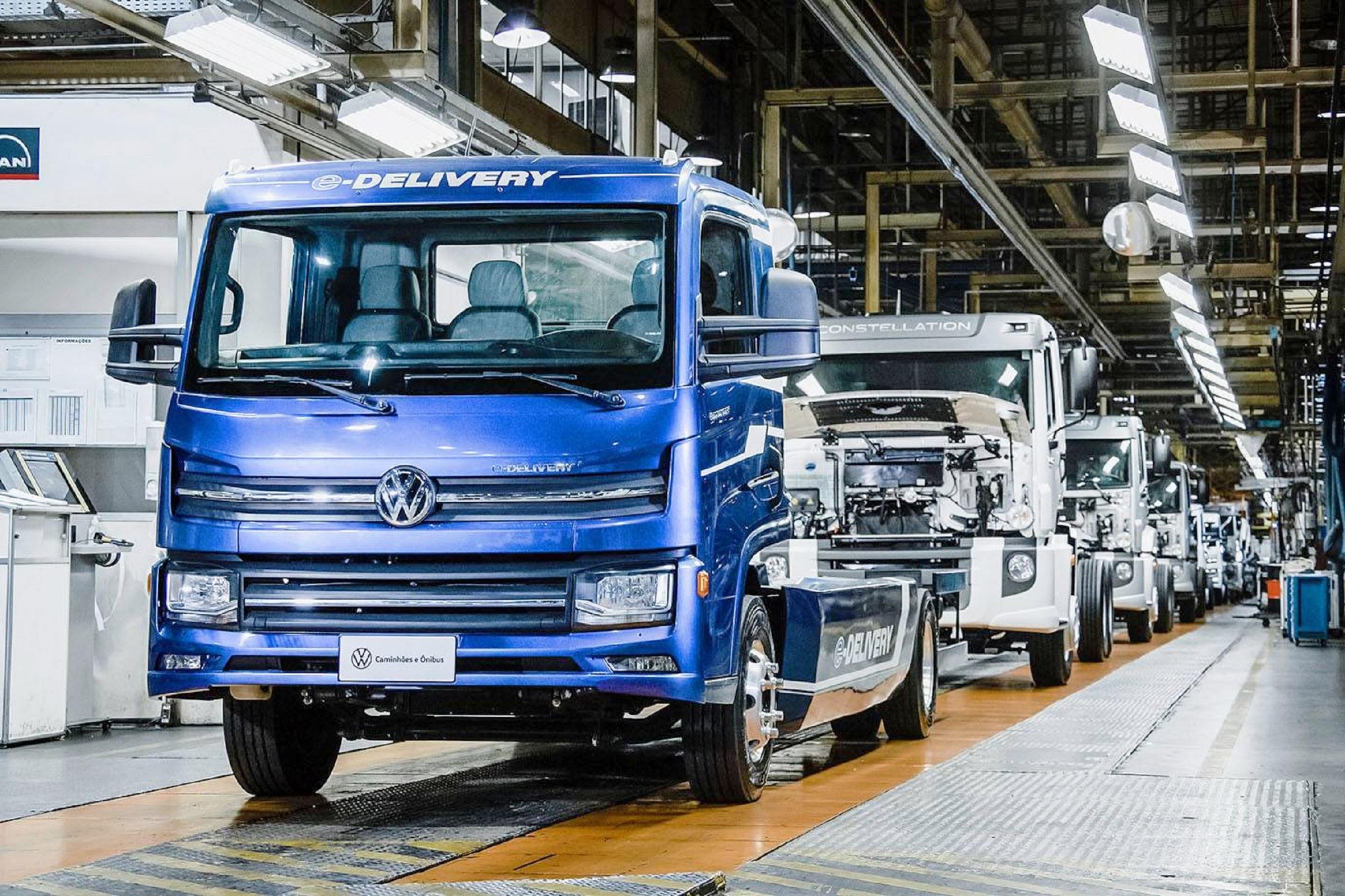 Primeiro caminhão elétrico do Brasil