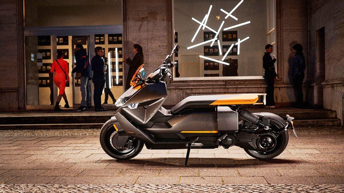 Scooter elétrica da BMW quer transformar o mercado